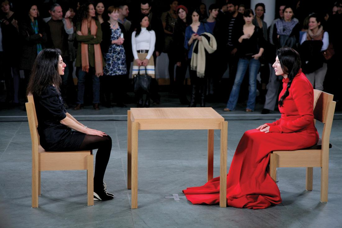 Controversial performance art comes to moma ladies and for Marina performance