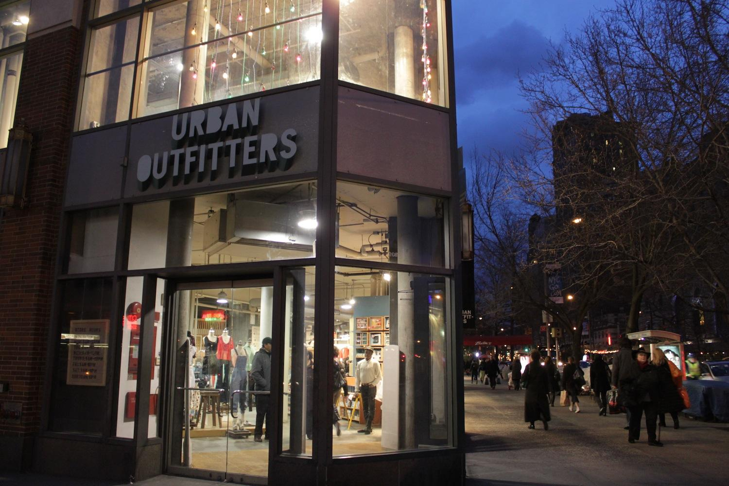 Urban Outfitters is a clothing store which sells vintage, retro