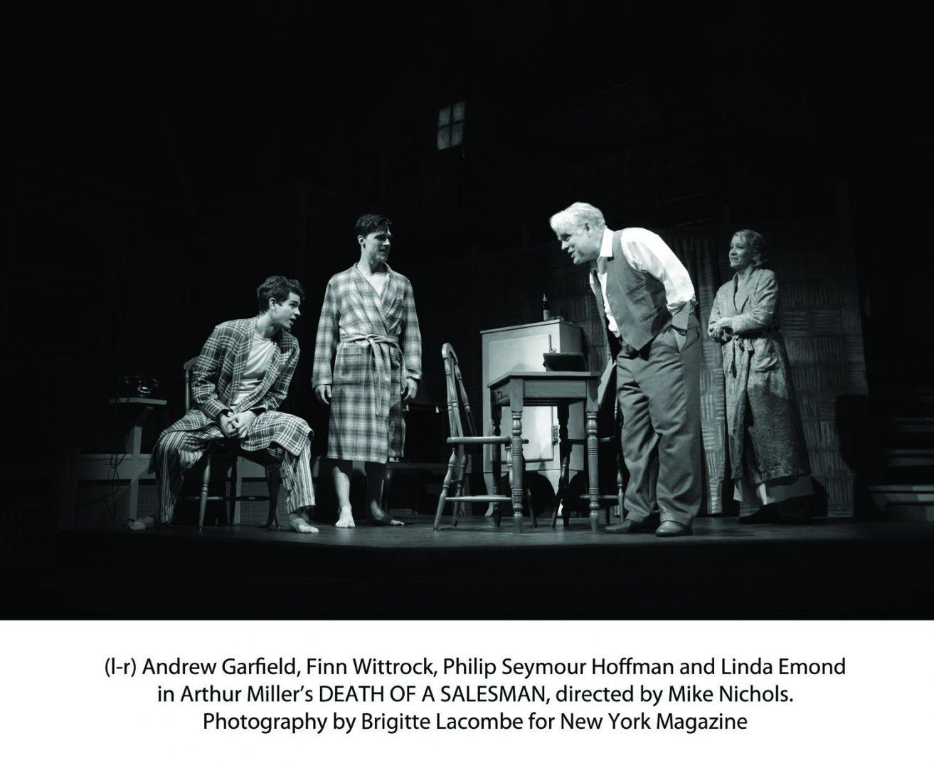 arthur miller s death of a sman revived on broadway fordham andrew garfield