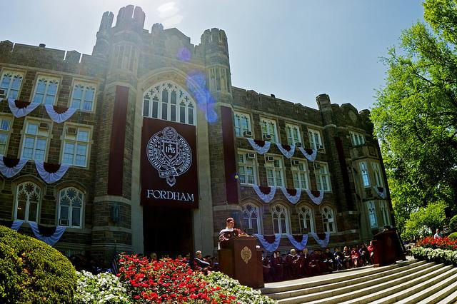 fordham college logo. fordham celebrates the class of 2014 college logo d