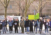 FFU Protest