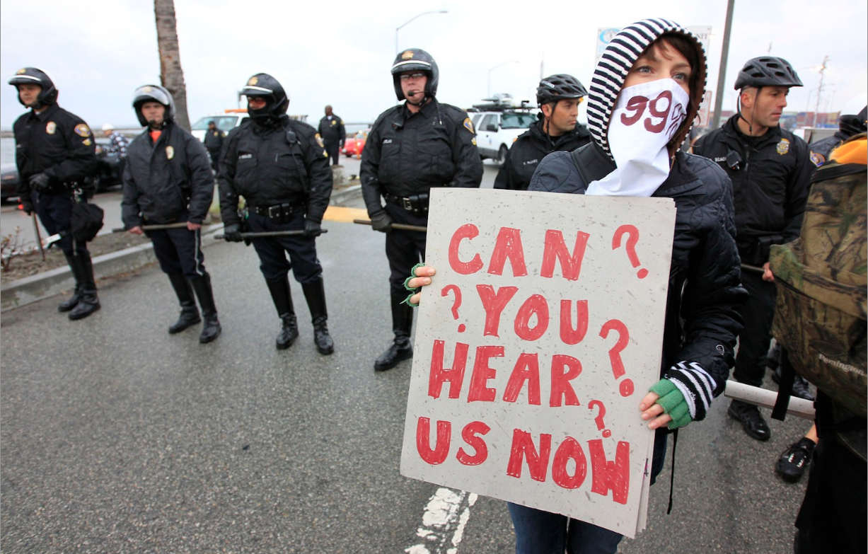 Occupy Wall Street: Violence erupts as police clash with ...
