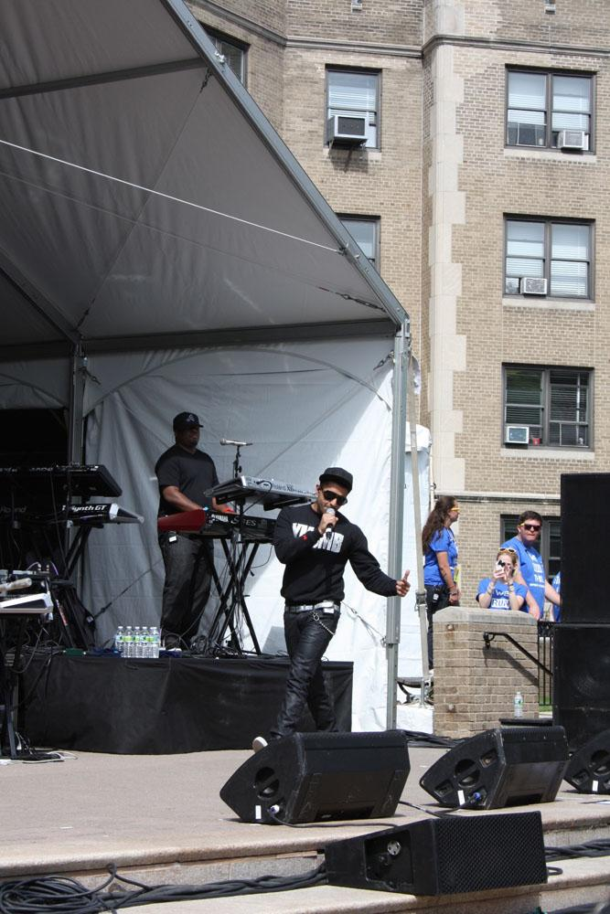 Jay Sean performed at Fordham University's 2012 Spring Weekend at the Rose Hill campus. (Jackson Galan/The Observer)