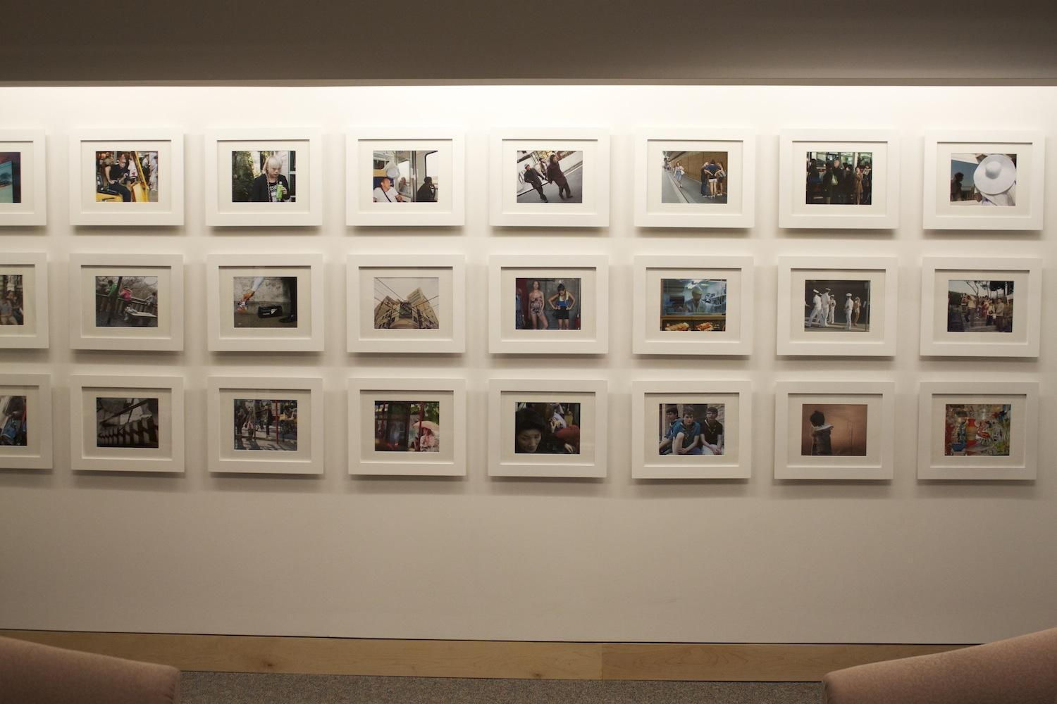Hayden Hartnett's Project Space is now open on the second floor of the Leon Lowenstein building in the Office of Undergraduate Admissions. The space features a past student's photographs from a documentary photography course in Japan. (Sara Azoulay/The Observer)