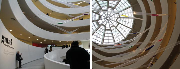 """The Guggenheim's new exhibit """"Gutai: Splendid Playground,"""" features an array of avant-garde works from a famous group of Japanese post-war artists. (Ludovica Martella/The Observer)"""