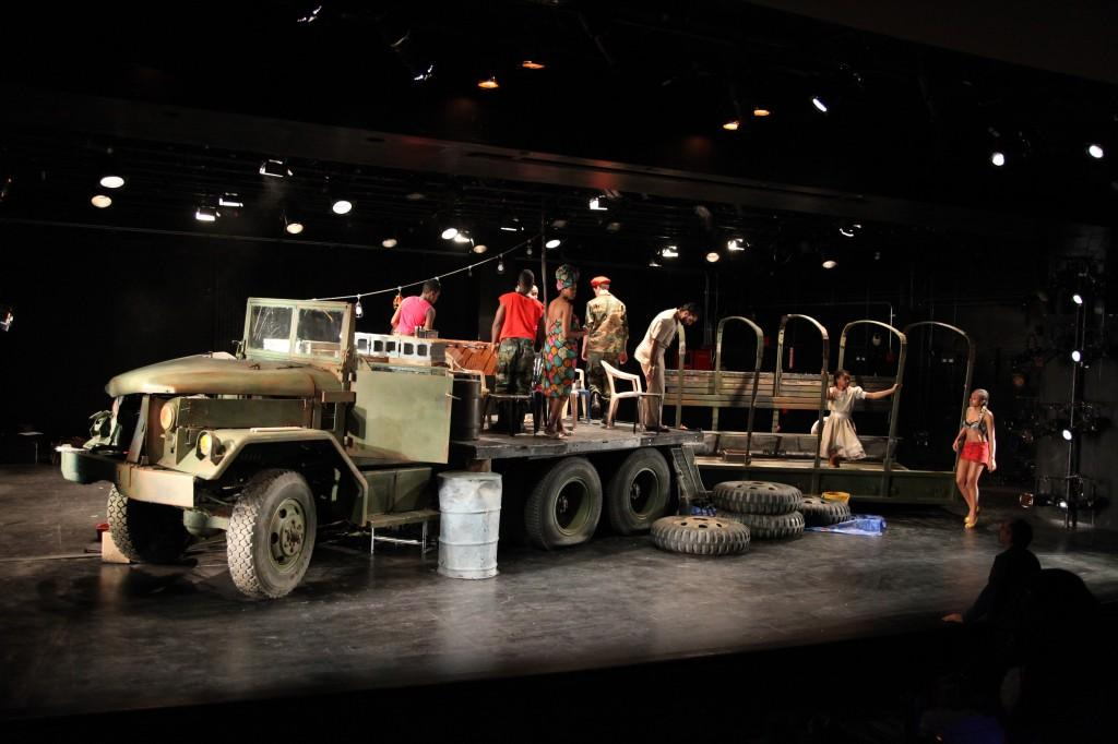 Ruined, a play by Lynn Nottage, was directed by Isis Misdary and was the latest production on the mainstage. (Courtesy of Ruined)