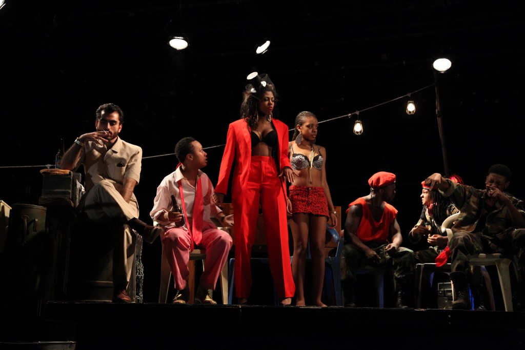 Ruined, a play by Lynn Nottage, was directed by Isis Misdary and was the latest production on the mainstage. (Courtesy of Ellen Goldberg/Fordham University)