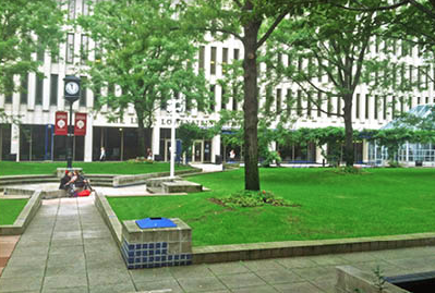 The Robert Moses Plaza. (Ian McKenna/The Observer)