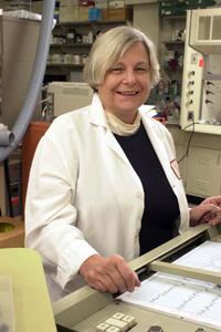 Joan Roberts, professor of natural sciences. (Courtesy of Joan Roberts)
