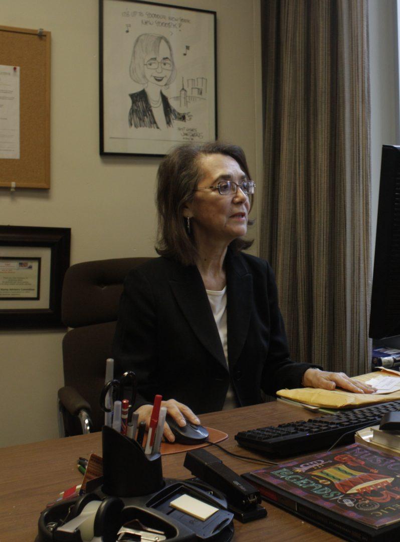Clara Rodriguez, professor of sociology. (Molly Barker/The Observer)