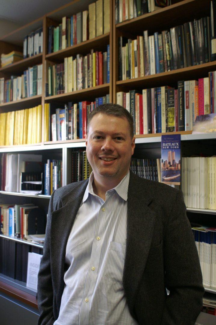John Davenport, associate professor of philosophy. (Brian Bruegge/The Observer)