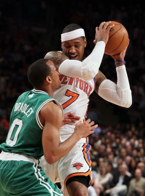 Anthony has been a key part of the Knicks strong 3-1 opening against the Boston Celtics. (Jim McIsaac/Newsday/MCT)