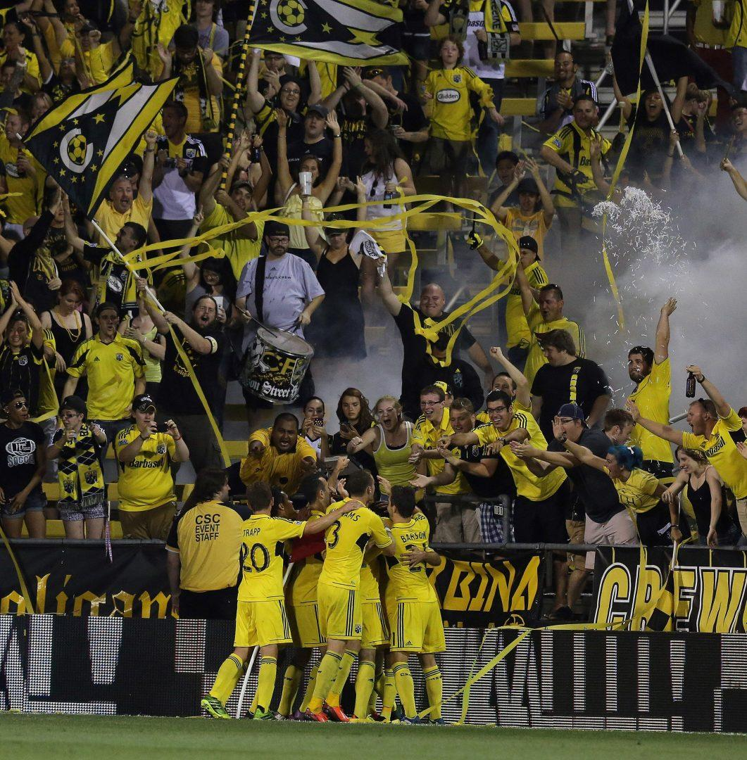 Americans are taking note of soccer. (Kyle Robertson/Columbus Dispatch/MCT)