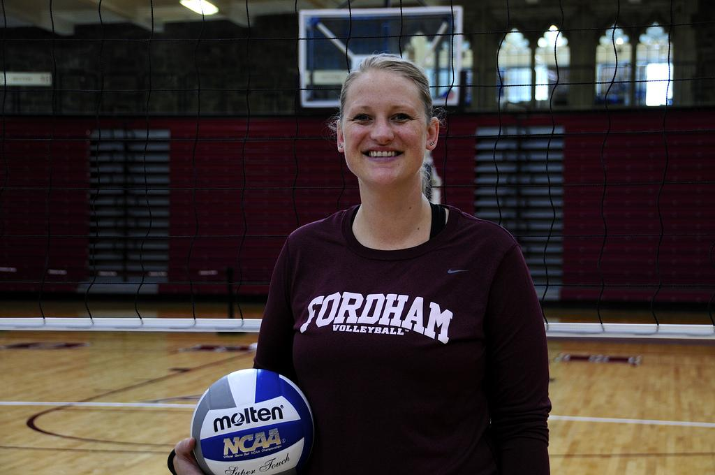 New Head Volleyball Coach Gini Ullery hopes her first season with Fordham is a successful one. (Melanie Chamberlain/The Observer)