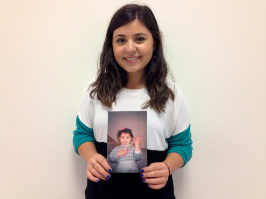 Author and FCLC student Nanor Hartounian and her memorable Barbie Halloween costume. (Jess Luszczyk/The Observer)