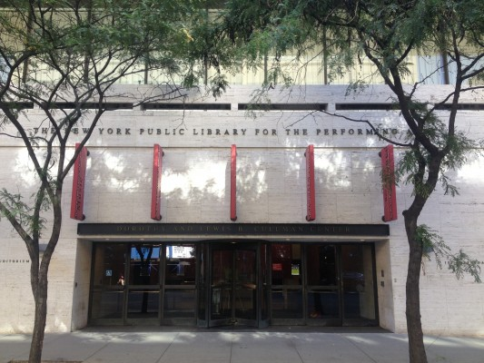 The NYPL branch at Lincoln Center holds an impressive collection of information on theatre, dance, and music (Jess Luszczyk/The Observer).