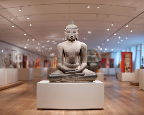 Students have the opportunity to study East Asian art in a new Introduction course.