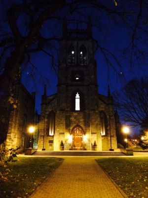 The Fordham University Church at Fordham College at Rose Hill. (Lauren Macdonald / The Observer)