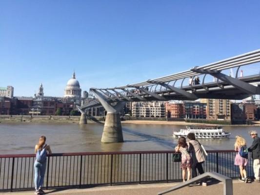 Millennium Bridge (PHOTO COURTESY OF MARISSA SBLENDORIO)