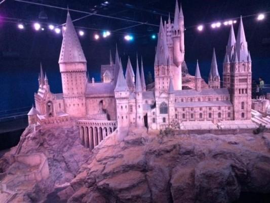 Large scale model of Hogwarts (PHOTO COURTESY OF MARISSA SBLENDORIO