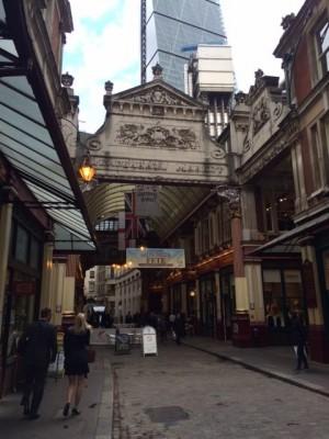 Leadenhall Market (PHOTO COURTESY OF MARISSA SBLENDORIO)