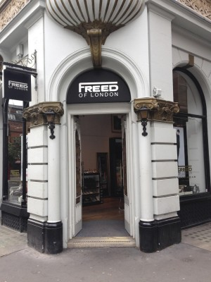 The original Freed store (PHOTO COURTESY OF SYDNEY THORNELL)