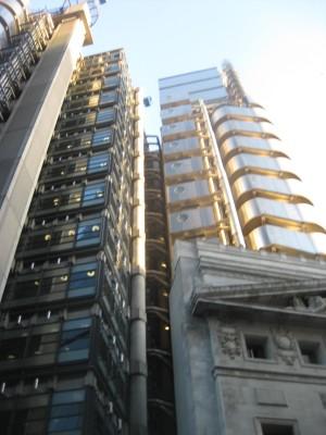 Entirety of the Lloyd's Building (PHOTO COURTESY OF MARISSA SBLENDORIO)