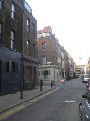 Streets in East London (PHOTO COURTESY OF MARISSA SBLENDORIO)
