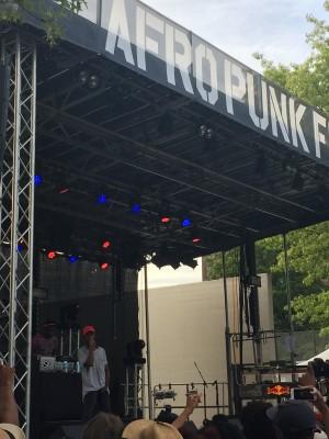 ARTS Afropunk-Goldlink on Red Stage