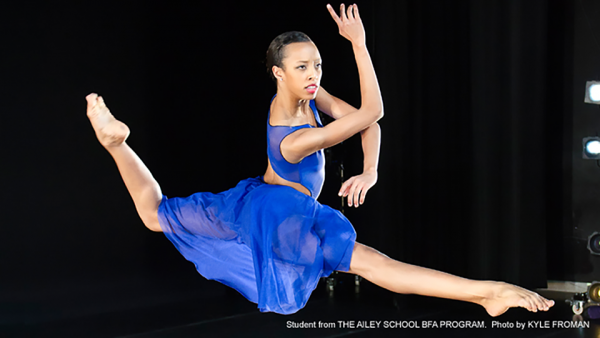 Courtney Celeste Spears is another senior who joined Ailey II. (PHOTO COURTESY OF EDUARDO PATINO)