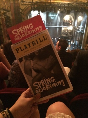 """""""Spring Awakening"""" finished its limited engagement at the Brooks Atkinson Theatre on Jan. 24, 2016. (OONA MURLEY/THE OBSERVER)"""