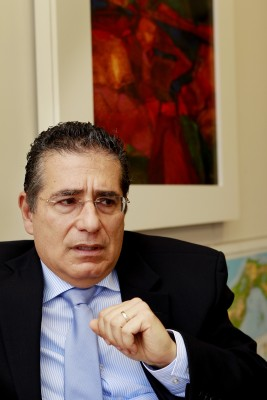 One of the co-founders of the Mossack Fonseca law firm in Panama is Ramon Fonseca Mora, seen here in a May 31, 2012, photo. (Courtesy of the International Co./TNS)