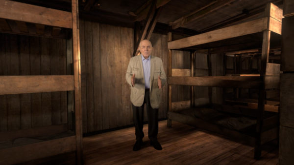 """The Last Goodbye"" tells the incredible story of Holocaust survivor Pinchas Gutter's return to a concentration camp. (COURTESY OF HERE BE DRAGONS)"