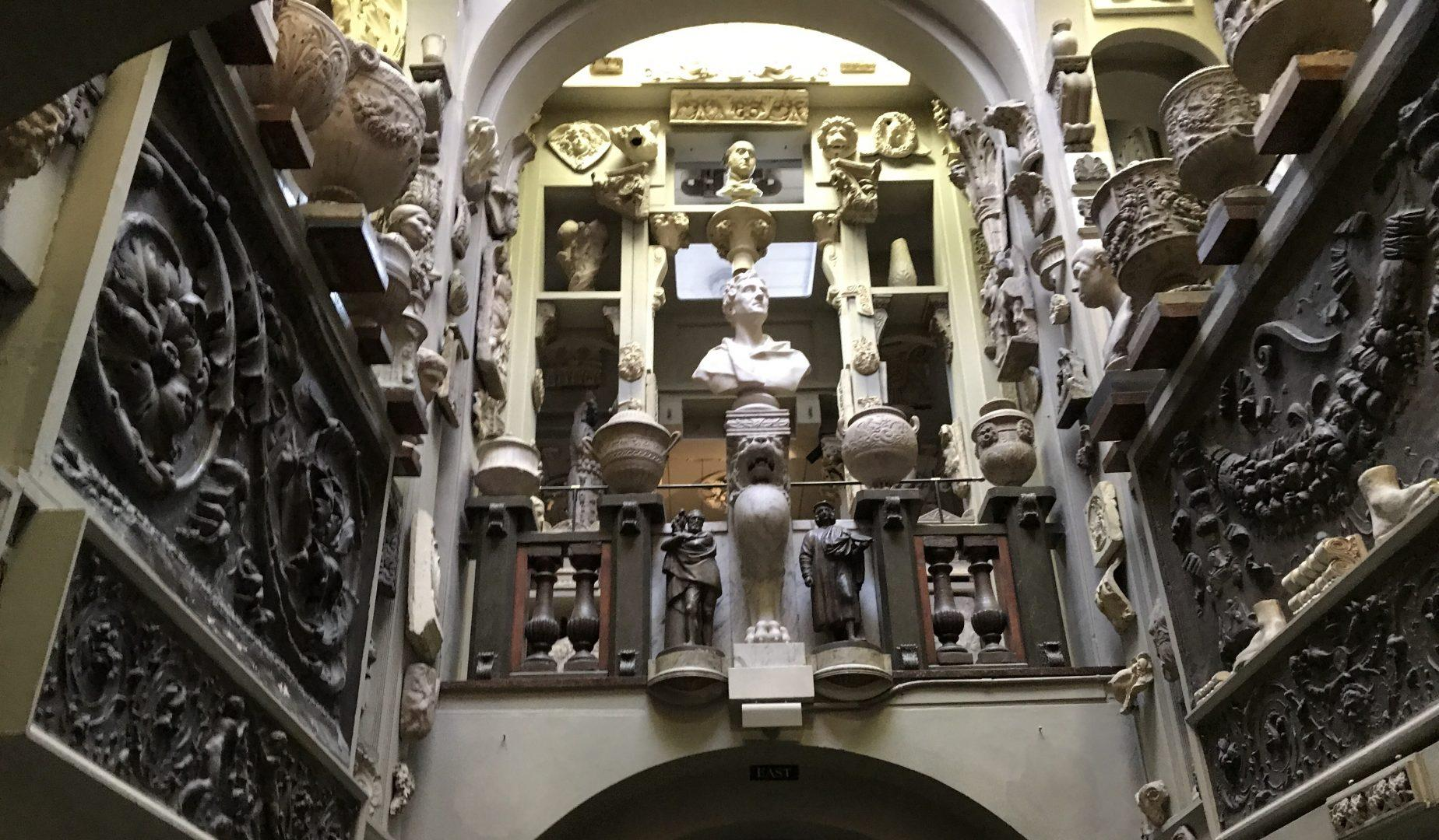 Soane's extensive collection of artifacts includes everything from busts and pottery to statues and paintings. (KARALEE ROGERS/ THE OBSERVER)