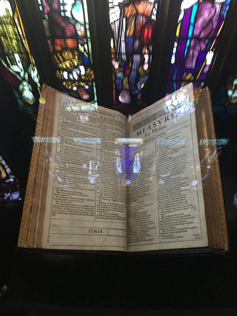 The First Folio. (THOMAS ZACHAR/ THE OBSERVER)
