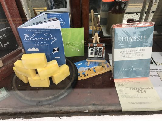 One of the window displays in the front of Sweny's Chemist shop. (ERIKA ORTIZ/THE OBSERVER)