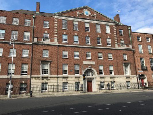 The outside of the National Maternity Hospital in Dublin, Ireland. (ERIKA ORTIZ/THE OBSERVER)