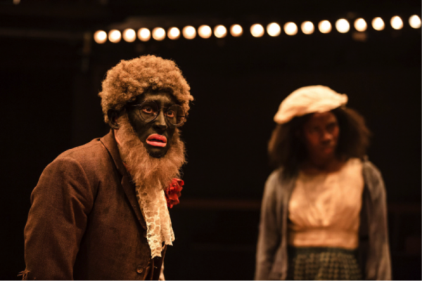 "Alistair Toovey and Vivian Oparah in ""An Octoroon."" (COURTESY OF ©THE OTHER RICHARD)"
