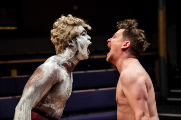 "Ken Nwosu and Kevin Trainor in ""An Octoroon."" (COURTESY OF ©THE OTHER RICHARD)"